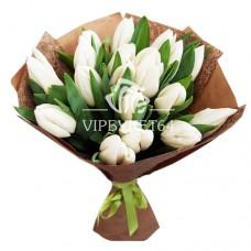 Тюльпаны в крафте 15
