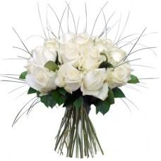 Роза белая 15