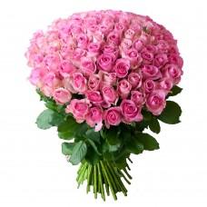 Роза розовая 101