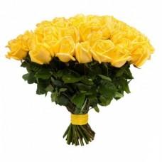 Роза желтая 41