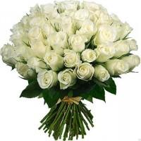 Роза белая 101 (Эквадор)