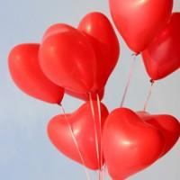 Шары сердце №10